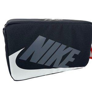 Nike Black White Shoe Box Zip Bag New Shoebox Bag